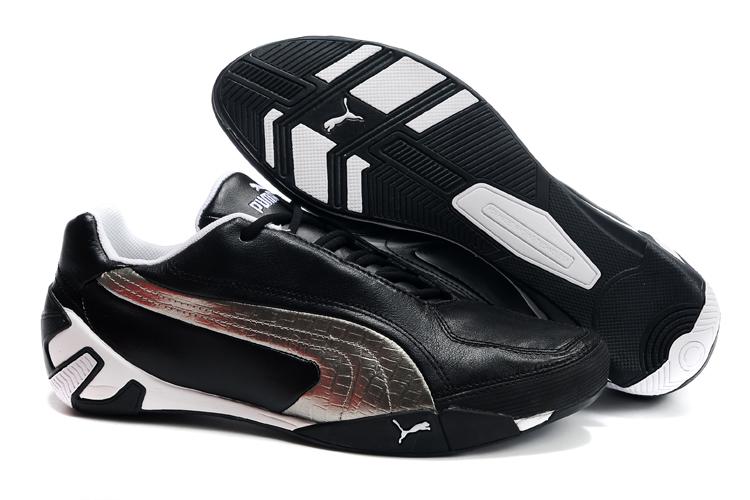 Men's Puma Fluxion ii Shoe Black/Silver