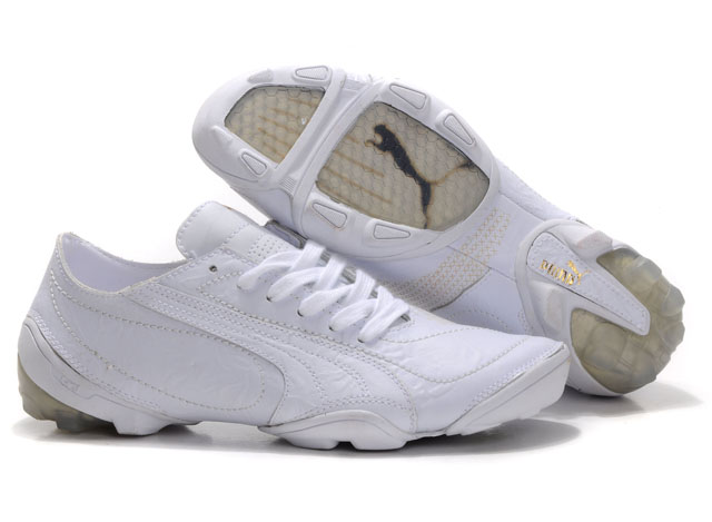 Puma Football Trainers White