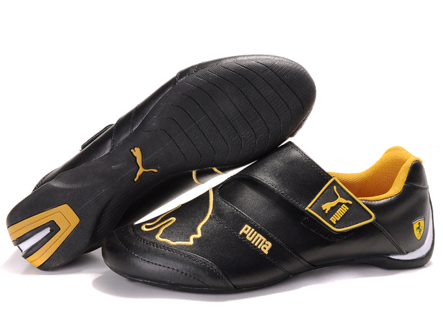 Puma Future Cat Baylee Shoes Black/Gold