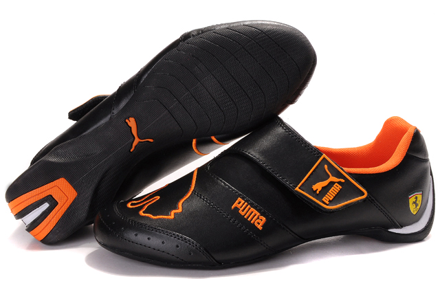Puma Future Cat Baylee Shoes Black/Orange