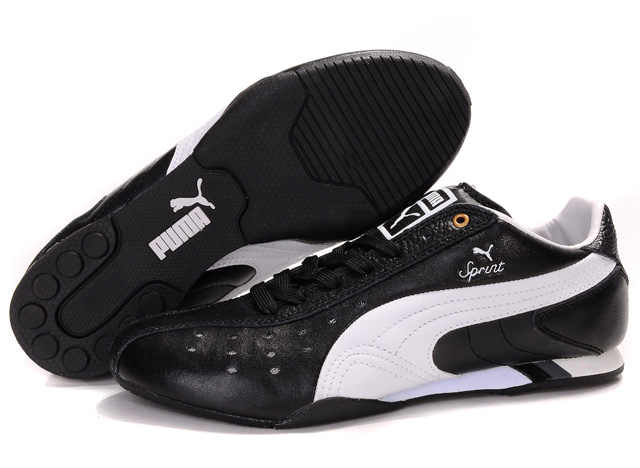 Puma Future Cat Ferrari Shoes Black/White