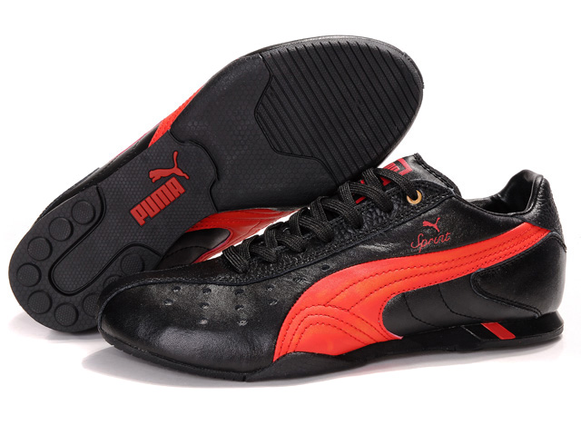 Puma Future Cat Ferrari Shoes Black/Red