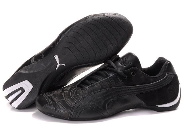 Men's Puma Future Cat Ferrari Sneakers Black