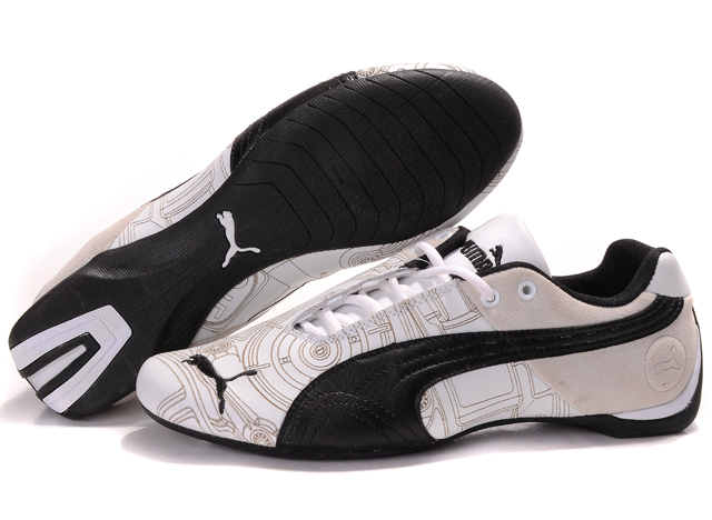 Puma Future Cat Ferrari Sneakers White/Tan/Black
