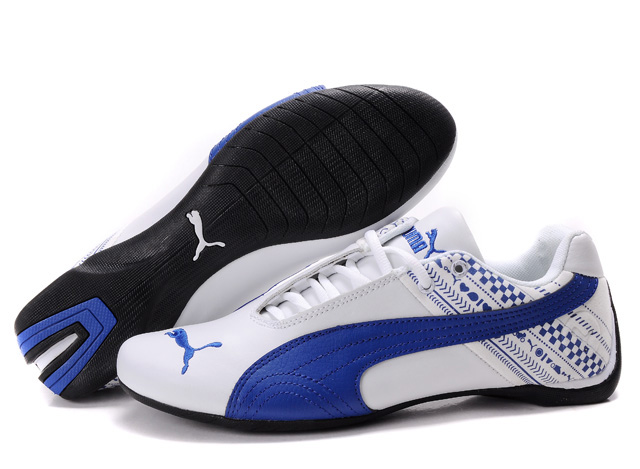 Men's Puma Future Cat GT Shoes White/Blue