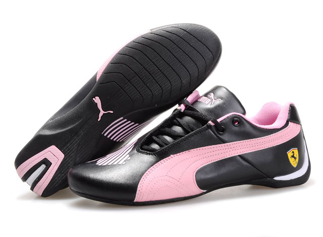 Puma Future Cat II Lux Black/Pink