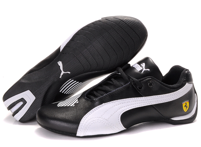 Women's Puma Future Cat II Lux Black/White