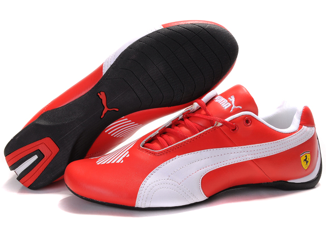 Women's Puma Future Cat II Lux Red/White