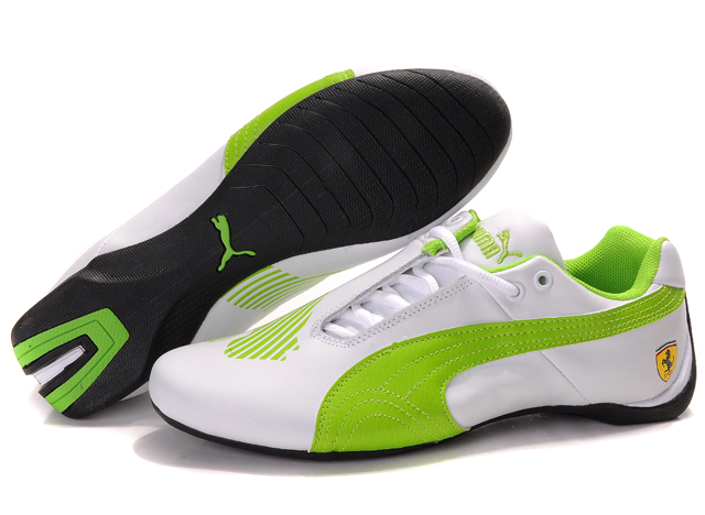Puma Future Cat II Lux White/Green