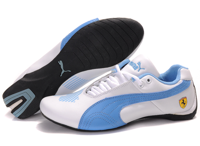 Puma Future Cat II Lux White/Blue