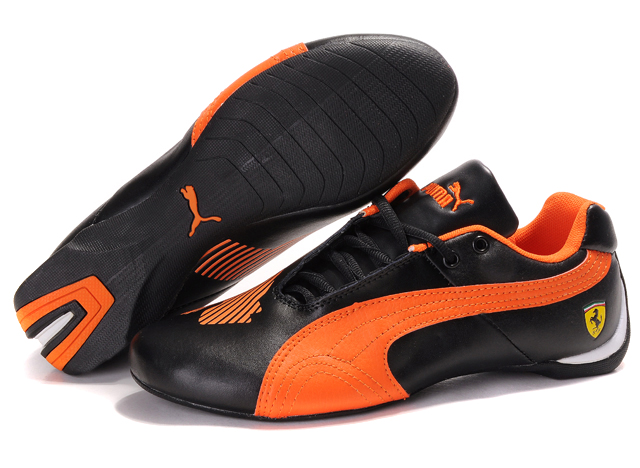 Puma Future Cat II Lux Black/Orange
