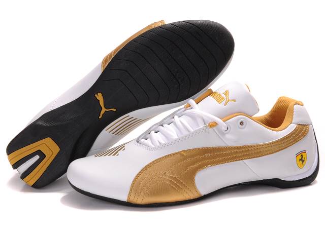 Puma Future Cat II Lux White/Gold