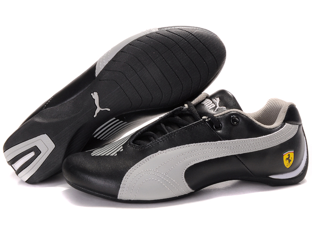 Men's Puma Future Cat II Lux Black/Grey