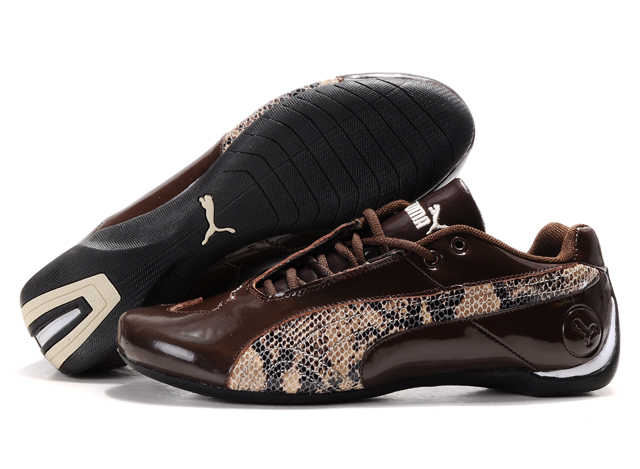Men's Puma Future Cat Low Shoes Brown/Color
