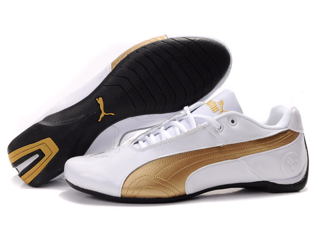 Puma Future Cat Low Shoes White/Gold