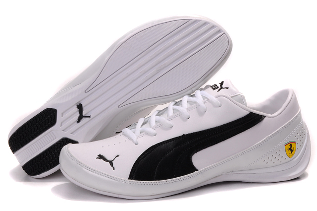 Puma Future Cat M1 Shoes White/Black