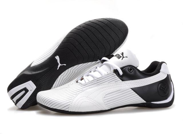 Men's Puma Future Cat Remix Shoes White/Black