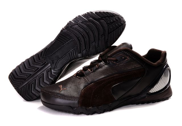 Puma Grit Cat III Shoes Brown