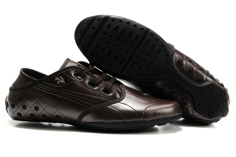Puma H-Moc Shoes Chocolate/Black