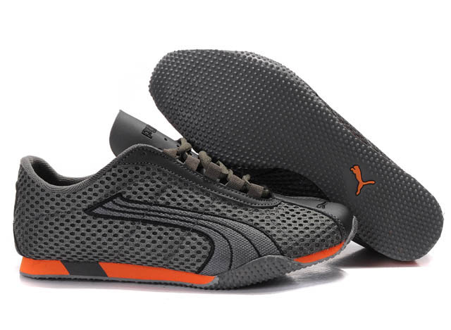 Puma H-Street Rising Plus Shoes Grey/Orange