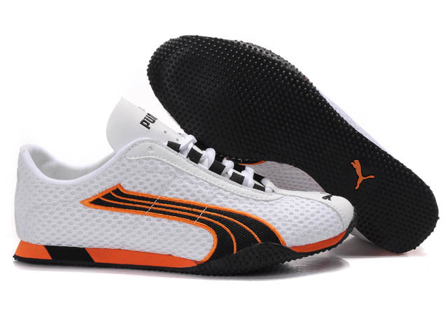 Puma H-Street Rising Plus Shoes White/Orange/Black
