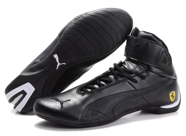 Men's Puma High Tops Shoes Black