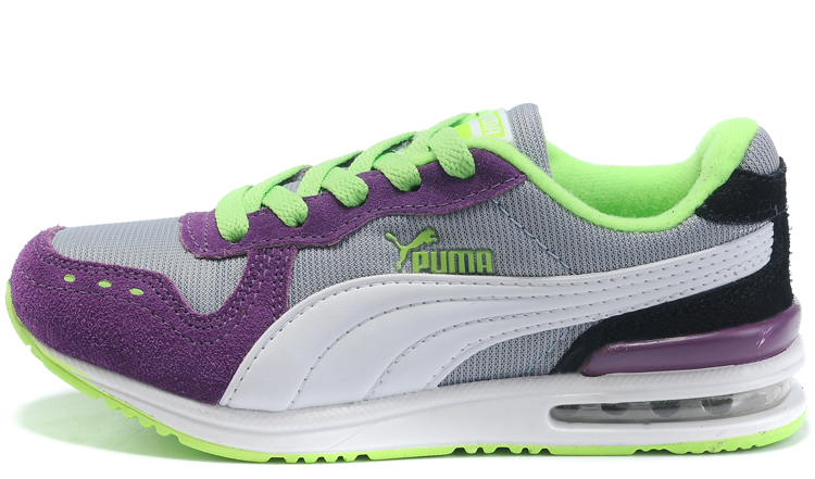 Puma Kid Cabana Racer Jr Purple