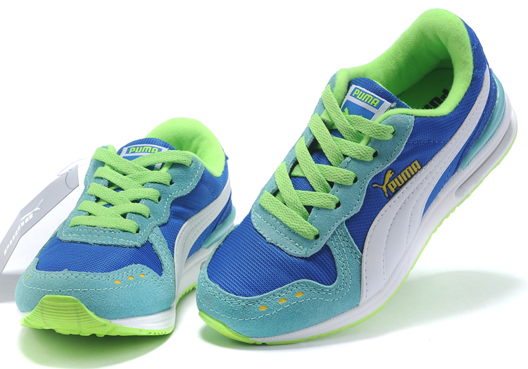 Puma Kid Cabana Racer Jr Blue