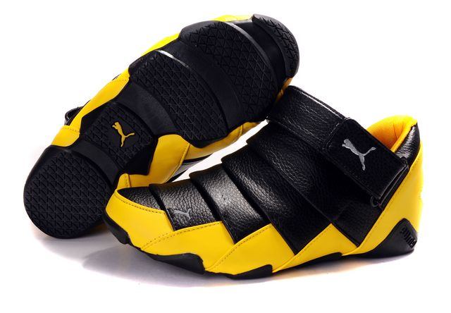Puma Lazy Insect High Shoes Black/Yellow