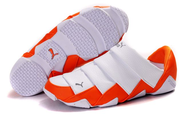 Women's Puma Lazy Insect Low Shoes White/Orange