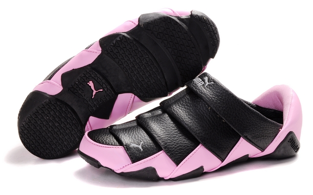 Women's Puma Lazy Insect Low Shoes Black/Pink