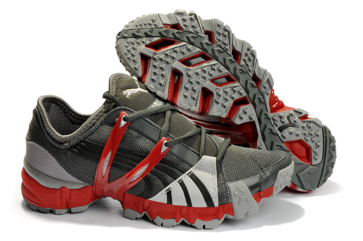 Puma Mesh Running Shoes Grey/Red
