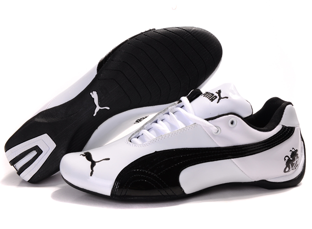 Puma Michael Schumacher Shoes White/Black