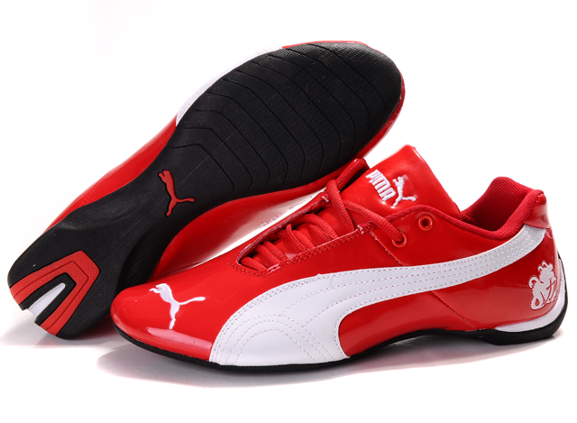 Puma Michael Schumacher Shoes Red/White