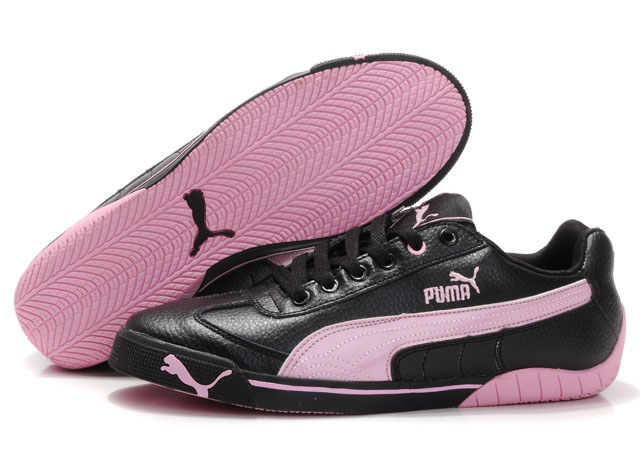 Puma Michael Schumacher Trainers Black/Pink