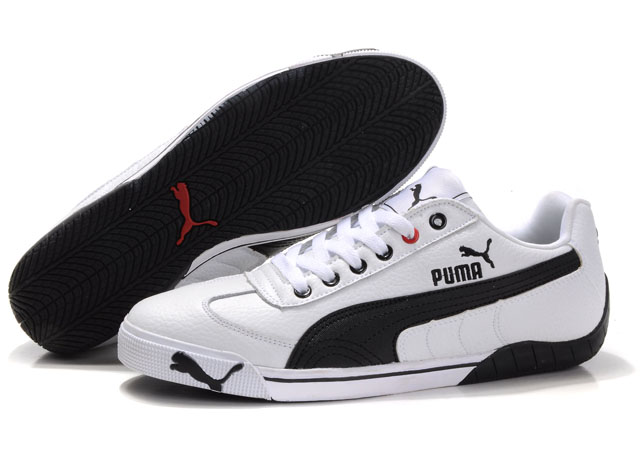Puma Michael Schumacher Trainers White/Black