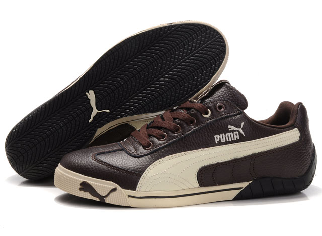 Puma Michael Schumacher Trainers Brown/Beige