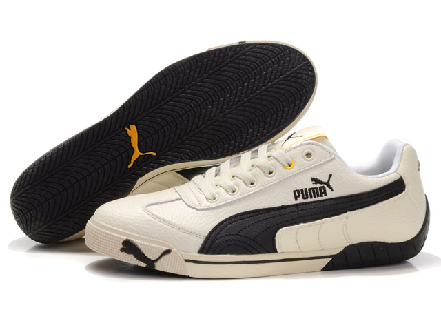 Puma Michael Schumacher Trainers Beige/Brown