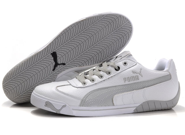 Puma Michael Schumacher Trainers White/Grey