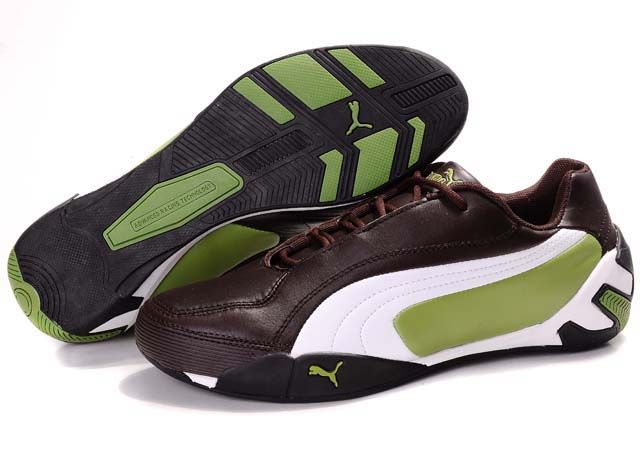 Puma SF Fluxion II Shoes Brown/White/Green
