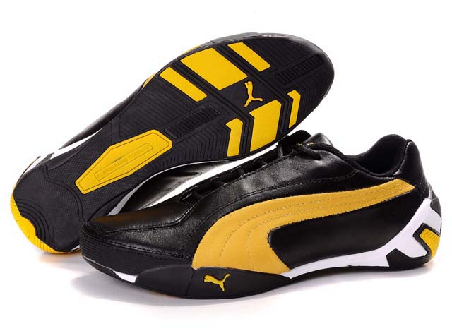 Puma SF Fluxion II Shoes Black/Yellow/White
