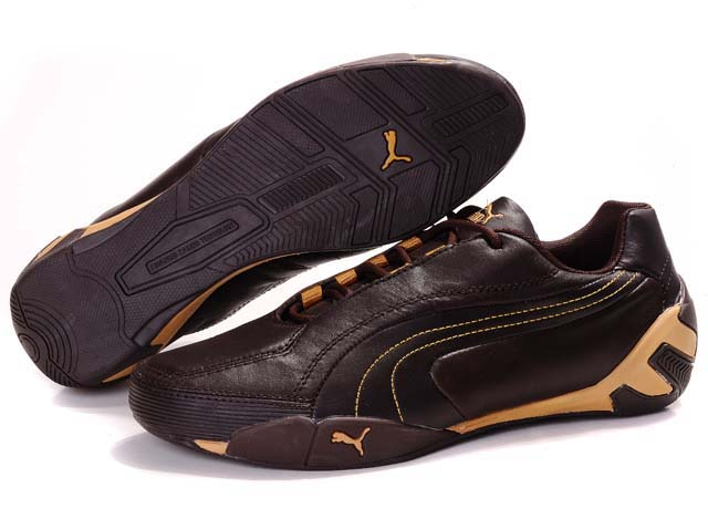 Puma SF Fluxion II Shoes Brown/Gold