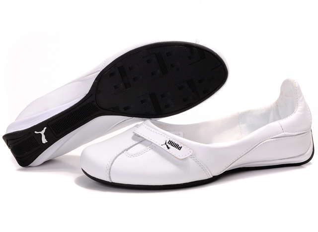 Puma Saba Ballet Gloss Shoes White/Black