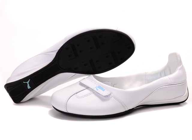 Puma Saba Ballet Gloss Shoes White/Blue
