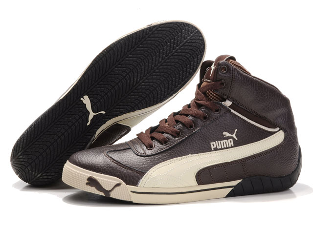 Puma Schumacher Racing Shoes Brown/Beige