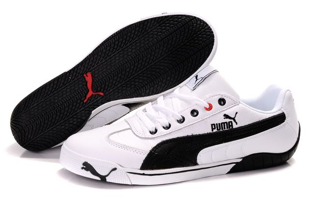Puma Schumacher Shoes White/Black