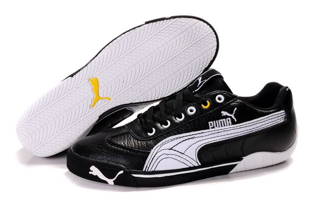 Puma Schumacher Shoes Black/White