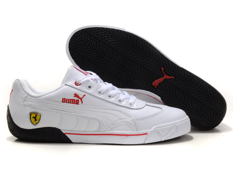 Puma Speed Cat Ferrari Shoes White