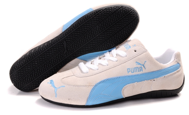 Women's Puma Speed Cat SD Shoes Tan/Blue