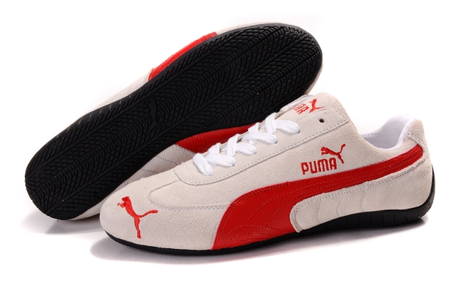 Men's Puma Speed Cat SD Shoes Tan/Red